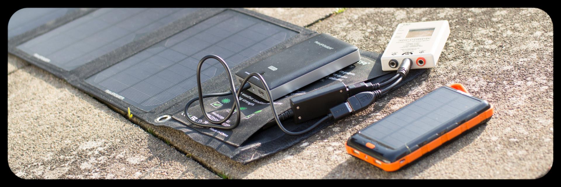 Solar Ladegeräte von RAVPower und EasyAcc im Vergleich