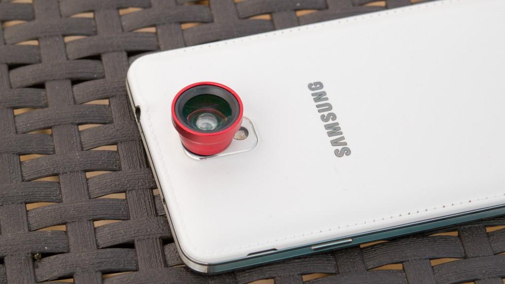 Ansteck Objektiv von Patuoxun im Test Magnetische Fish Eye Lens Fischaugen Objektiv Weitwinkel Micro Objektiv Kamera Kit Review