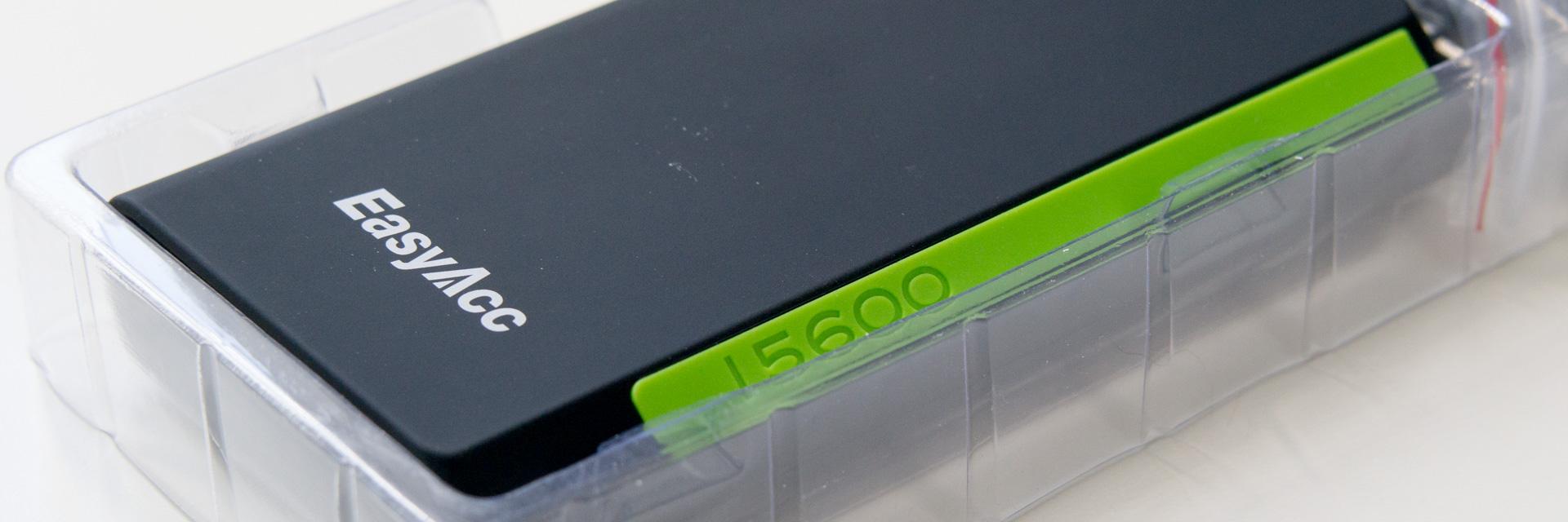 EasyAcc 15600mAh Dual USB