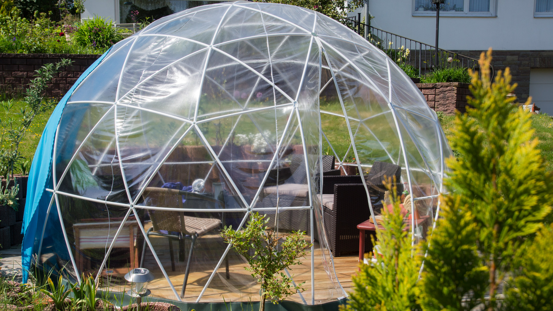 Garden Igloo Pavillon Gewchshaus Techtest