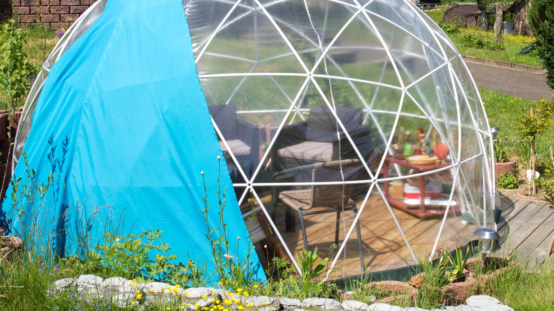 garden igloo pavillon gew chshaus review techtest. Black Bedroom Furniture Sets. Home Design Ideas