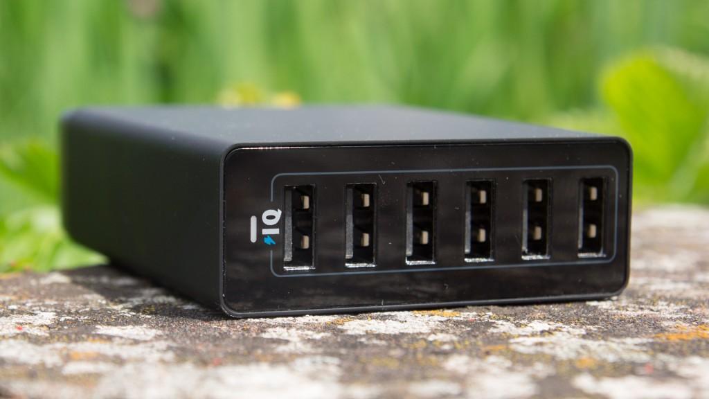 Review Anker 60W 6-Port USB Ladegerät PowerIQ Netzteil Ladestation Test