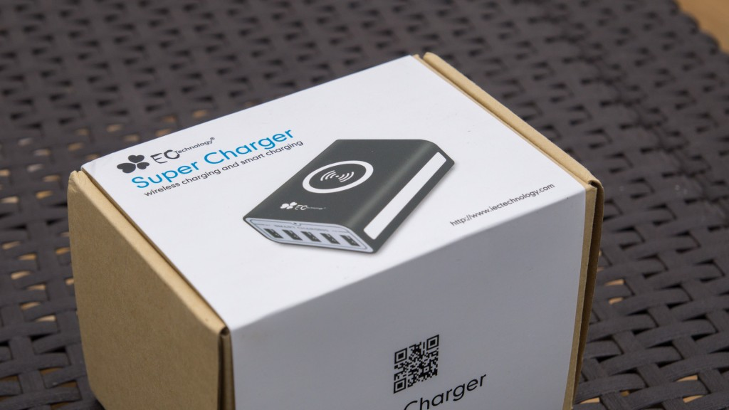 Review EC Technology 50W 5V/10A USB Ladegerät mit Wireless Ladestation 5-Port