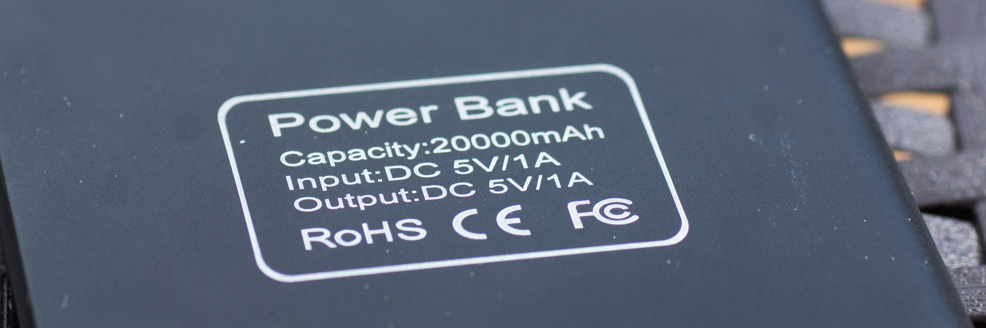 "Review Powerbank von AliExpress ""New Ultra-thin Metal Case 20000mAh Polymer Battery Charger"""