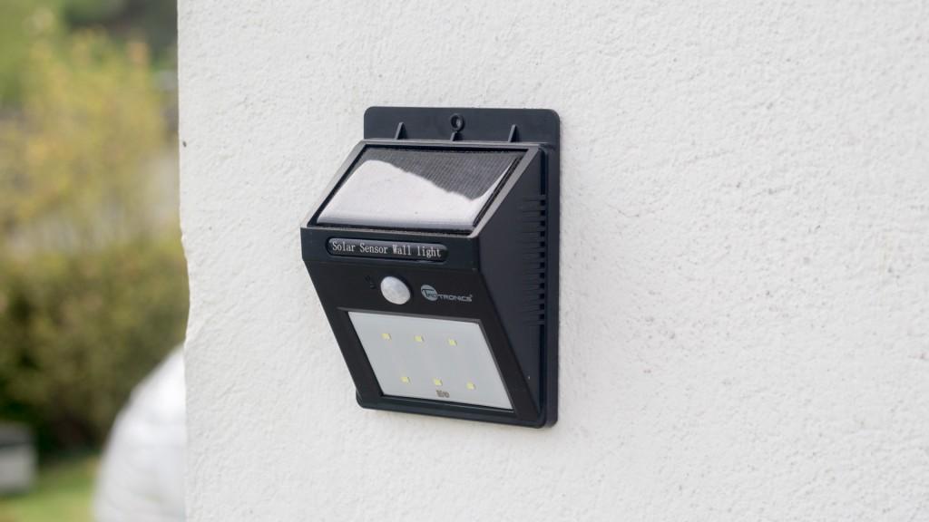 TaoTronics 6 LED Solar Nachtlicht mit Bewegungserkennung-6