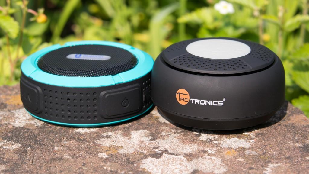 Wassergeschützte Bluetooth Lautsprecher von Patuoxun und TaoTro