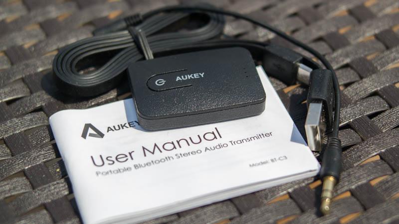 AUKEY Bluetooth Stereo Transmitter BT-C3 Sender Empfänger-3