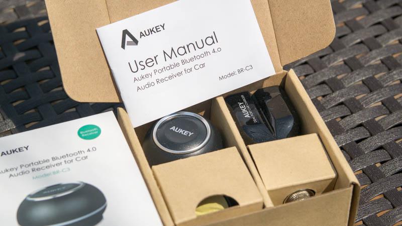 Aukey BR-C3 Bluetooth Empfänger Test Review