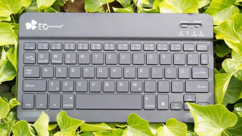 Die Perfekte Tablet Tastatur EC Technology Beleuchtete Tastatur LED