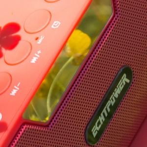 Das Perfekte Schlafzimmer oder Küchen Radio / Bluetooth Lautsprecher ECHTPower BS019