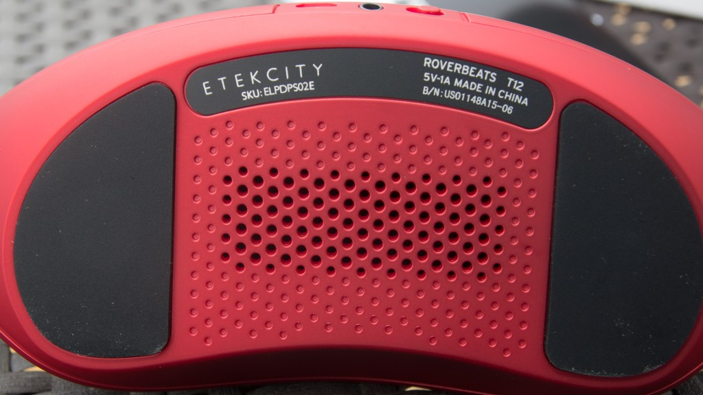Etekcity RoverBeats T12 Bluetooth Lautsprecher Rot