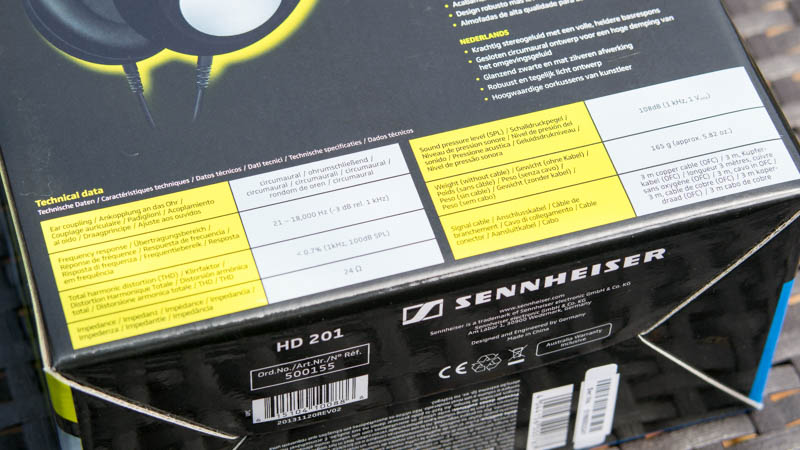 Günstige Kopfhörer von Sennheiser im Test Sennheiser HD 201 Review