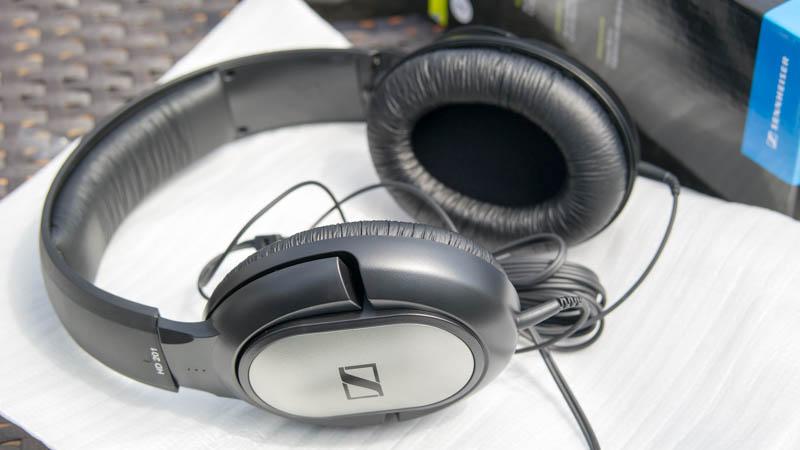Günstige Kopfhörer von Sennheiser im Test Sennheiser HD 201 Re