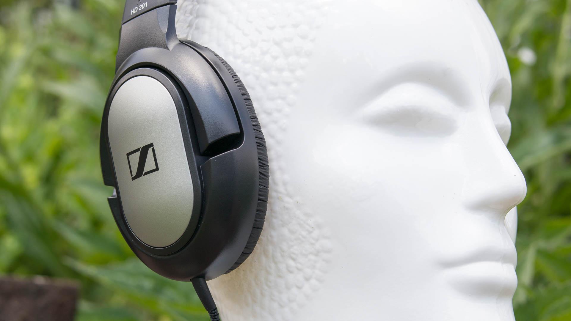 Günstige Kopfhörer von Sennheiser im Test Sennheiser HD 201