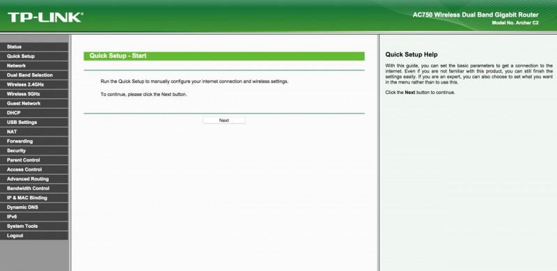 Günstiger W-Lan Router im Test TP-LINK Archer C2 AC750 Review