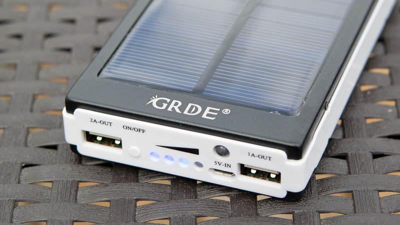 Günstigste Solar Powerbank von GRDE im Test-6
