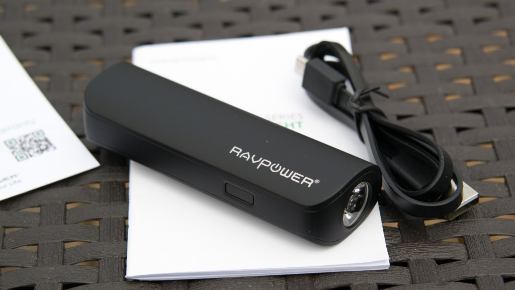RAVPower Luster 3200 mAh Power Bank im test review