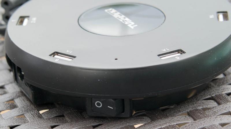 USB Charger Station mit 6 USB Ports von TUPower Ladegerät Test Netzteil Review