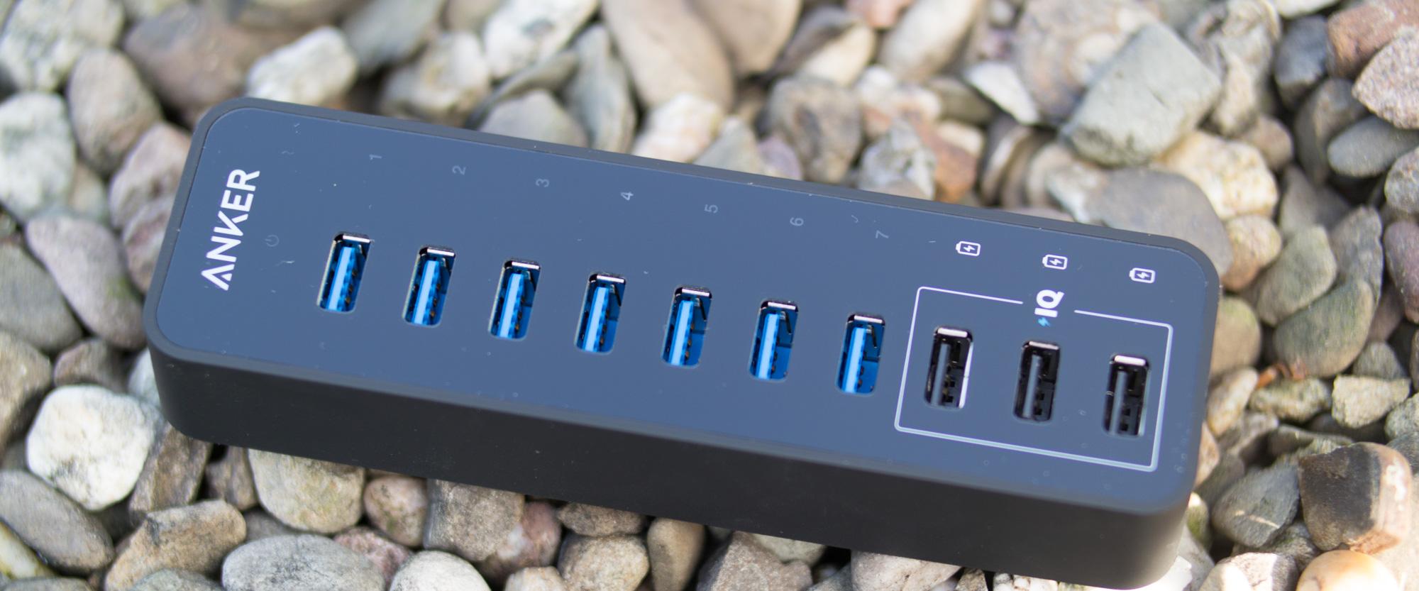 Anker 60W 7-Port USB 3.0 Datenhub