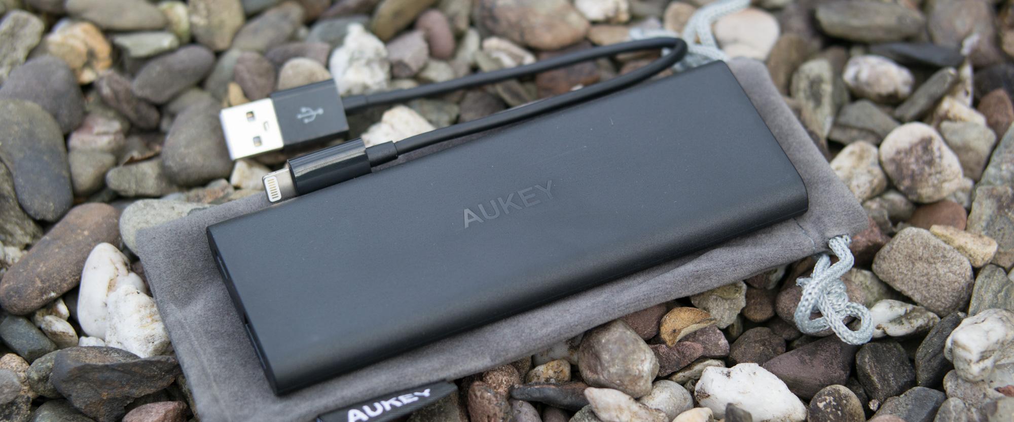 Die Apple Powerbank von Aukey
