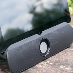 Bluetooth Lautsprecher + Tablet Ständer von Aukey im Test