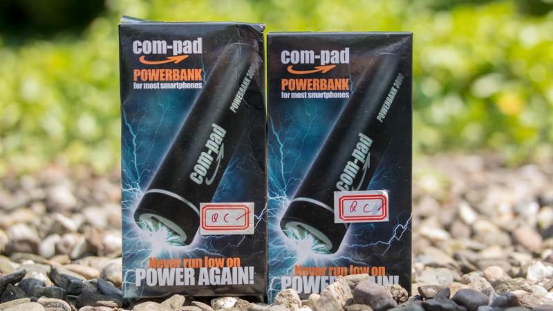 COM-PAD Powerbank 3000 Powerbank Externer Akku Test Review