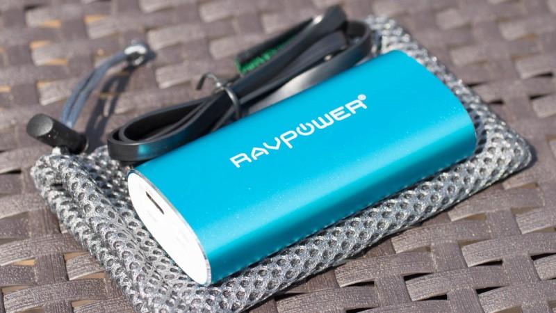 Die edelste Powerbank auf dem Markt RAVPower RP-PB17 5200mAh Ext