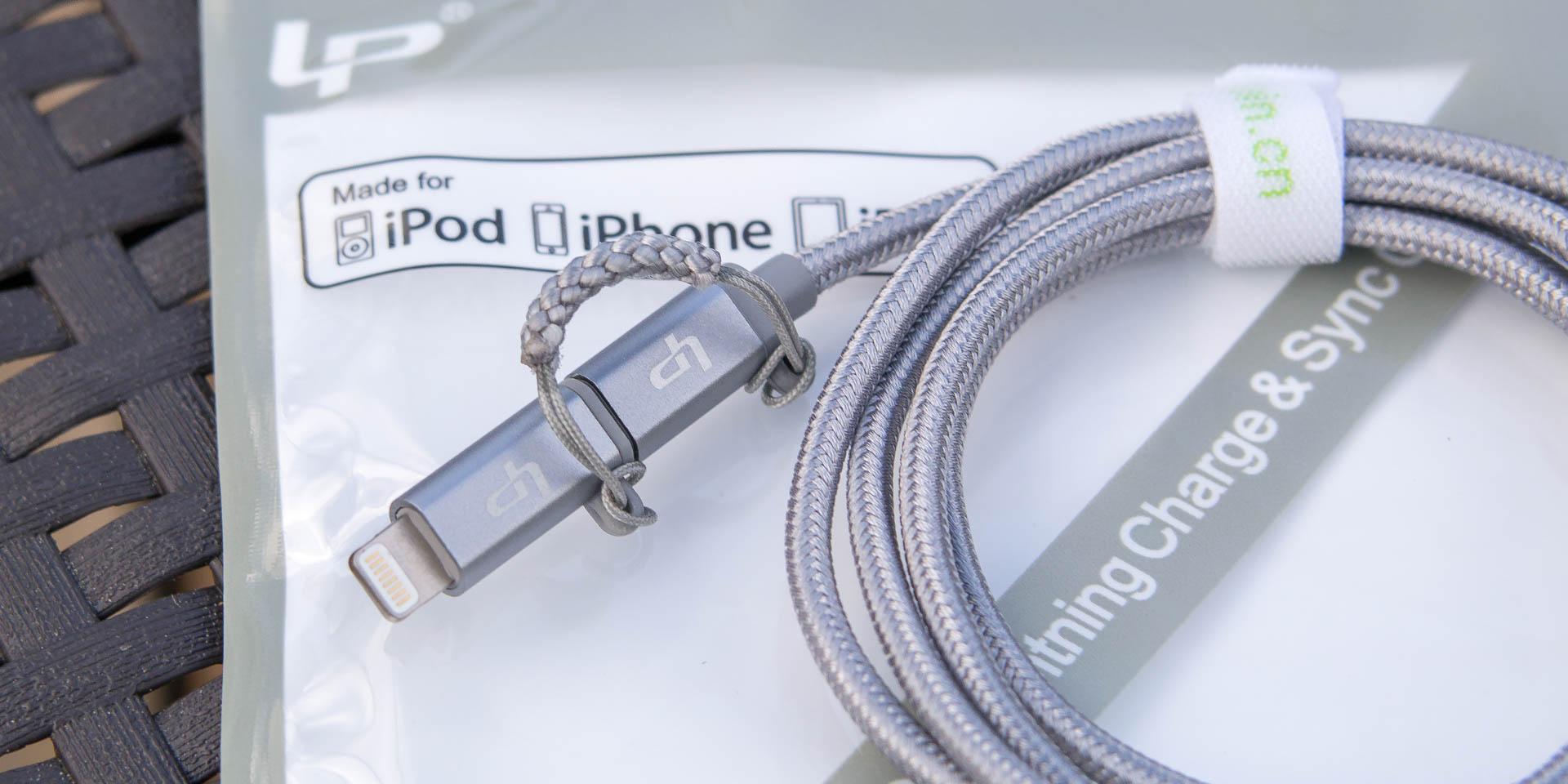 MFI zertifiziertes 2 in 1 Kabel von LP