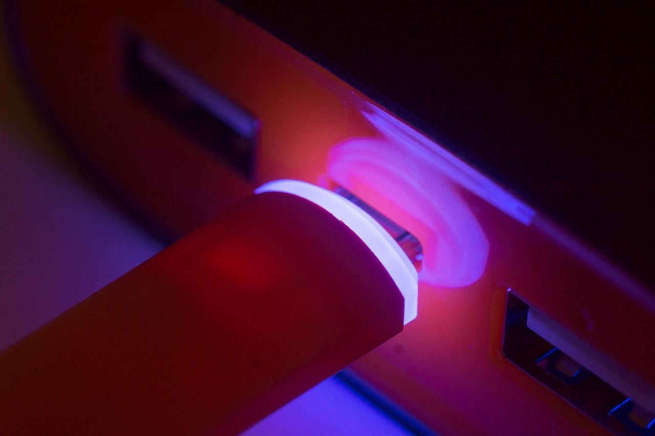 Anker USB-Lightning MFi 1.8m Gold A7114HB1