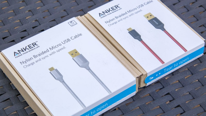 24 Micro USB Kabel von Anker Aukey Amazon Ugreen RAVPower Rankie COM-PAD mumbi KanaaN Wentronic AmazonBasics FRiEQ und co im Test Review