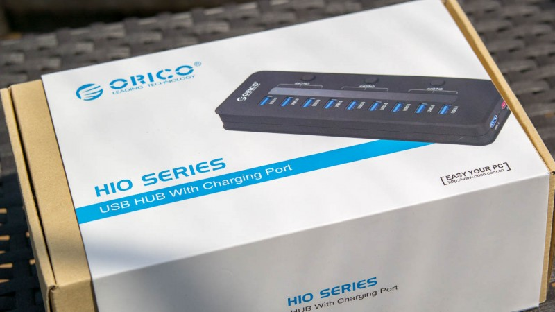 ORICO 10 port USB 3.0 HUB Ladegerät Kabel VL812 test Review