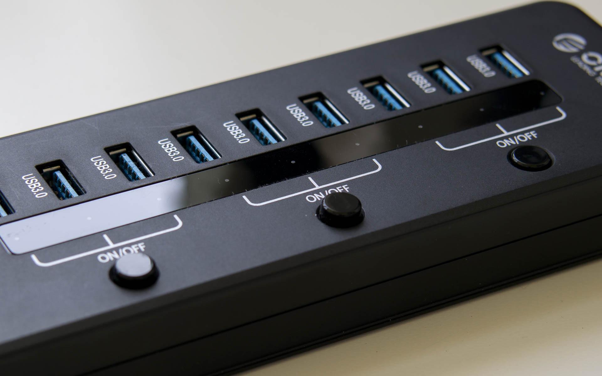 ORICO 10 port USB 3.0 HUB