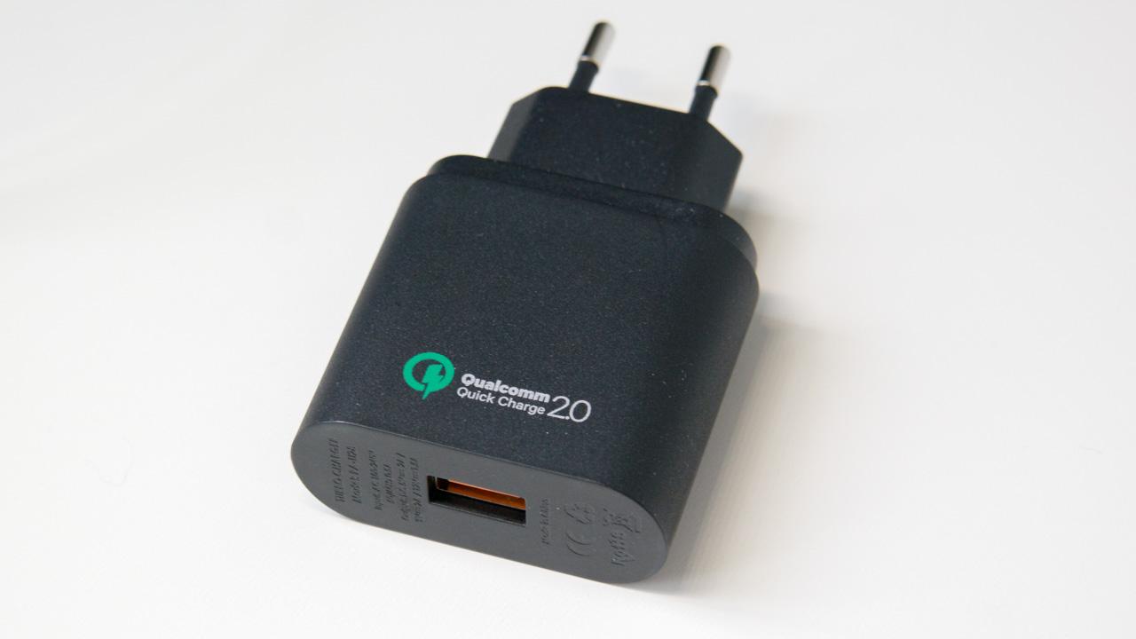 Quick Charge 20 Ladegert Von Aukey Im Test Techtest Pa U28 Turbo Charger 18w Fastcharging Qualcomm Qc20 Auk