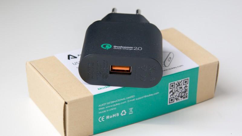 Qualcomm Quick Charge 2.0 Ladegerät von Aukey im Test QC2.0 Auk