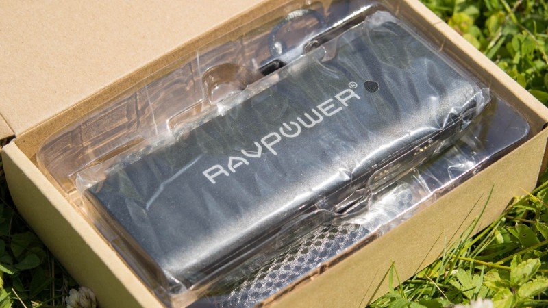 RAVPower 10400mAh Externer Akku RP-PB07 Powerbank Review Test