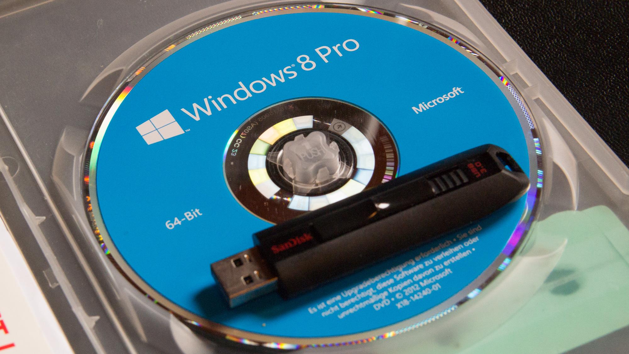 Windows 10/8.1/7 vom USB Stick installieren