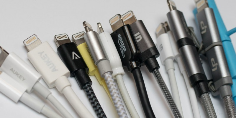 14 Apple Lightning Kabel Ladekabel Aukey Anker Amazon Syncwire JETech Leicke LP dodocool im Test Review