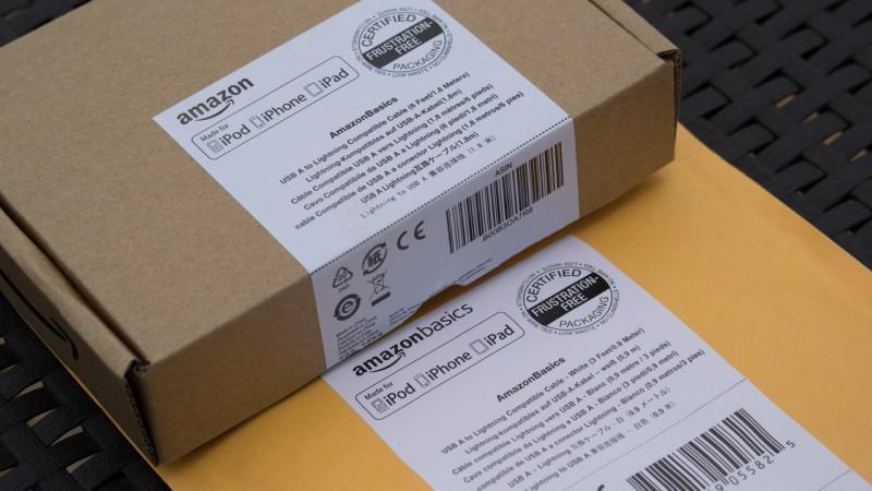 AmazonBasics Verbindungskabel Lightning auf USB, 0,9 m und 1,8m