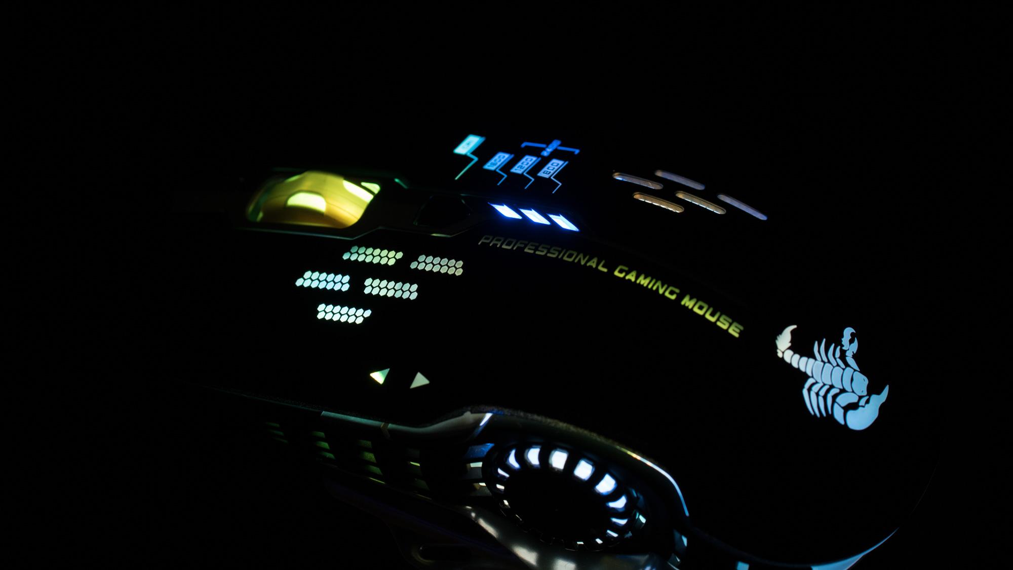 Die Gaming Maus mit der besten Preis Leistung AUKEY KM-G1 Armored Scorpid Gaming Laser Maus 4000dpi Test Review