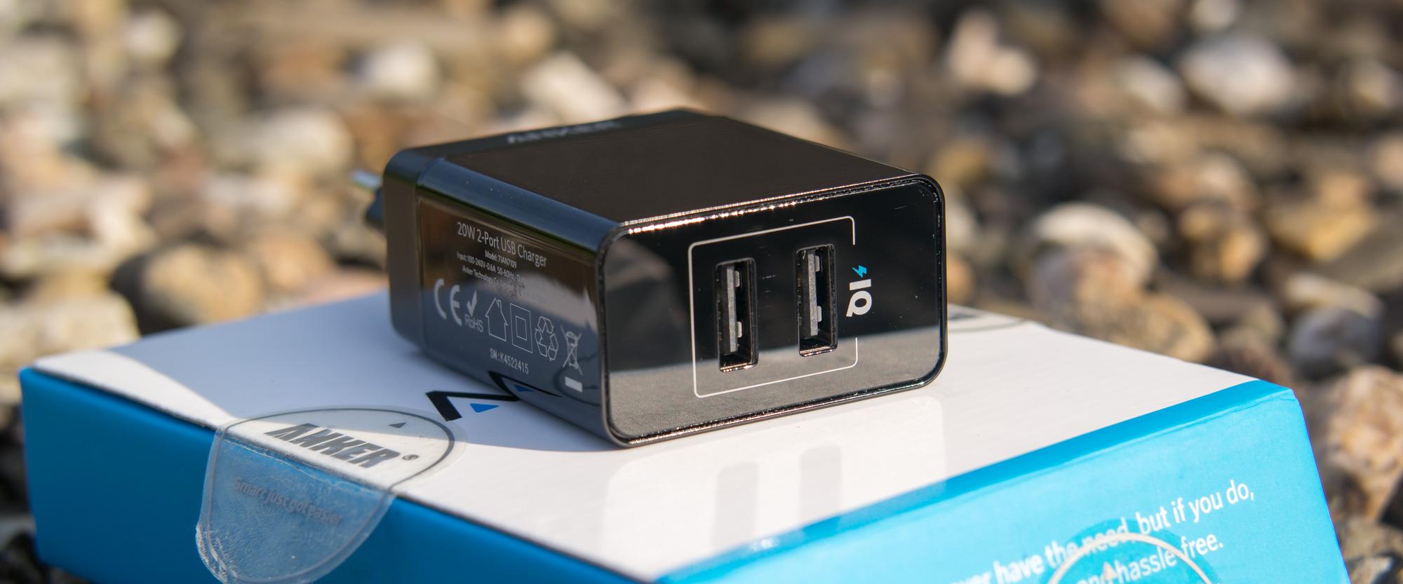Gewohnte Anker Qualität in klein? Anker 20W 2-Port USB Ladegerät
