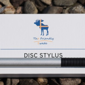 Der beste Touchscreen-Eingabestift ? The Friendly Swede Disc Stylus