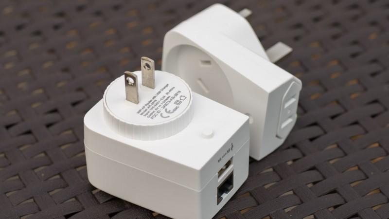 Reisebegleiter Poweradd WiFi Reise Router Gateway Ethernet Converter W-LAN LAN Netzwerk access point