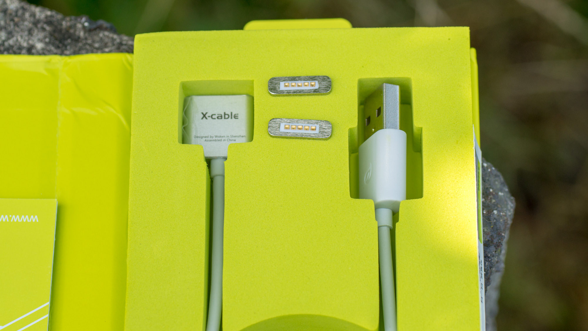 Magnetisches Micro USB Kabel wsken X-Cable in Test Review MagSafe Alu Hochwertig Ladekabel Magnet