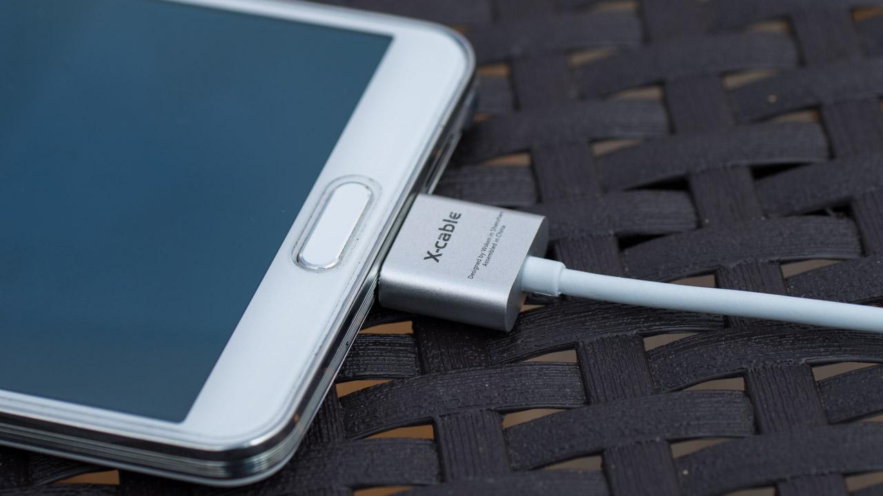 magnetisches micro usb kabel von wsken x cable im style von apples magsafe in test techtest. Black Bedroom Furniture Sets. Home Design Ideas