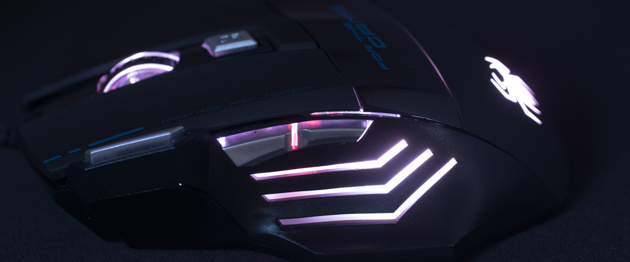 Patuoxun 2500 DPI Gaming Maus