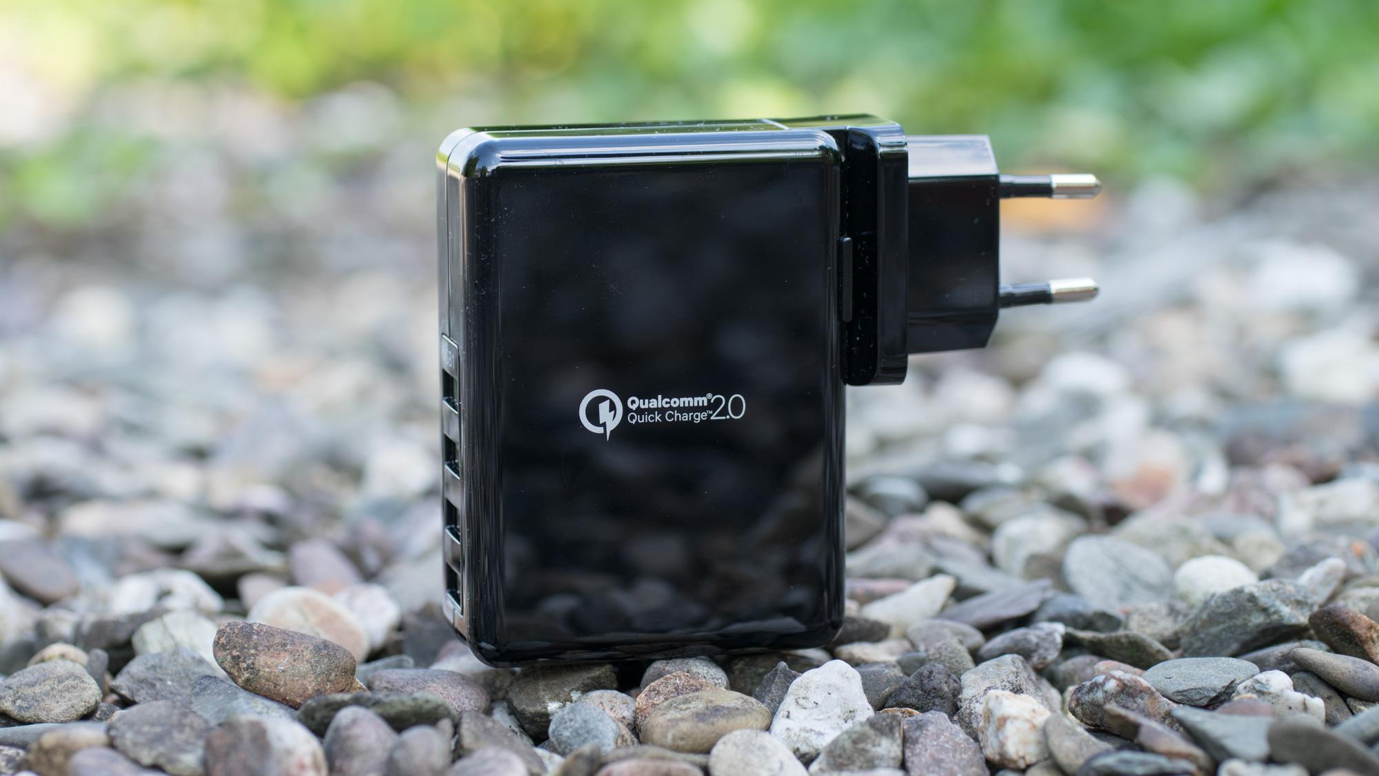 Poweradd Qualcomm Quick Charge 2.0 Ladegerät im Test