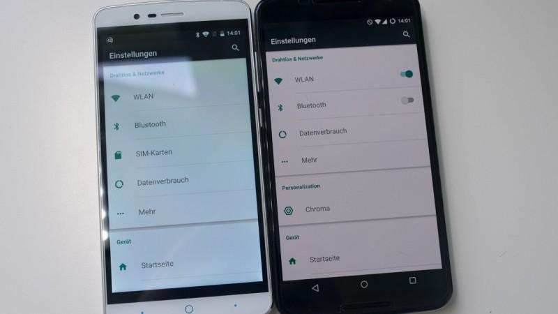 "Review des Elephone P8000 Test Vergleich Kamera Benchmarks Antutu MTK6753 Full HD 5,5"" Display Andorid Smartphone"