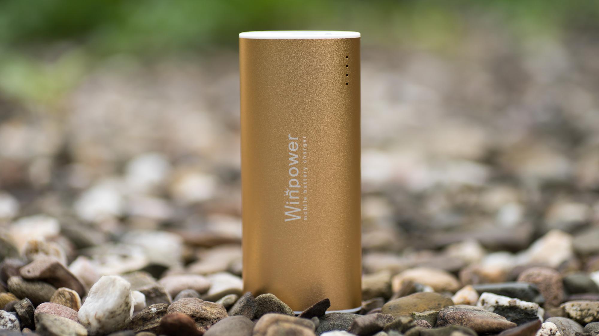 Schicke Powerbank von WINPOWER im Test WINPOWER 5600 mAh WT-P56A