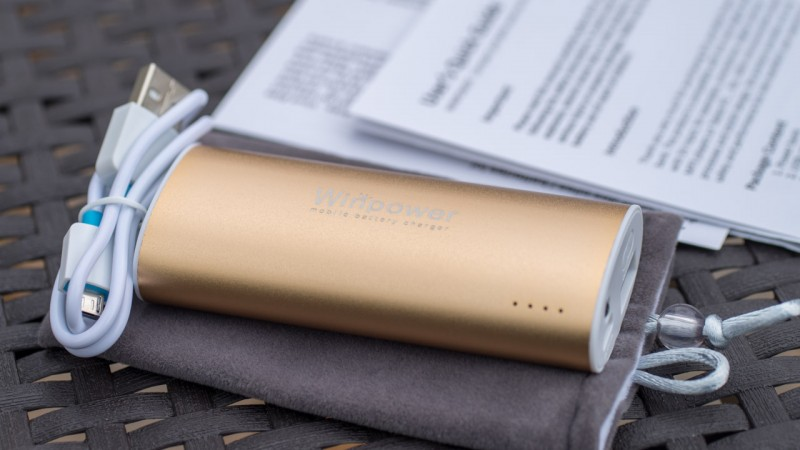 WINPOWER Test WINPOWER 5600 mAh WT-P56A-SL Externer Akku Review