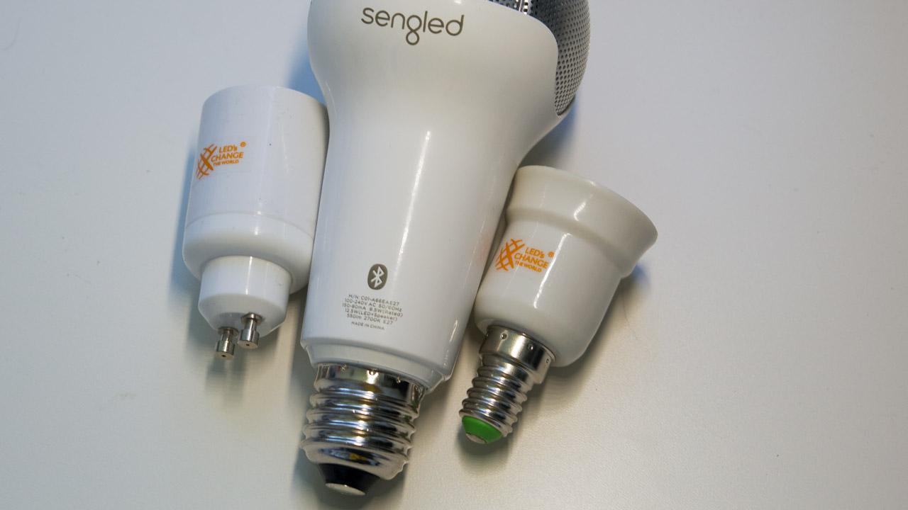 lampe mit lautsprecher test